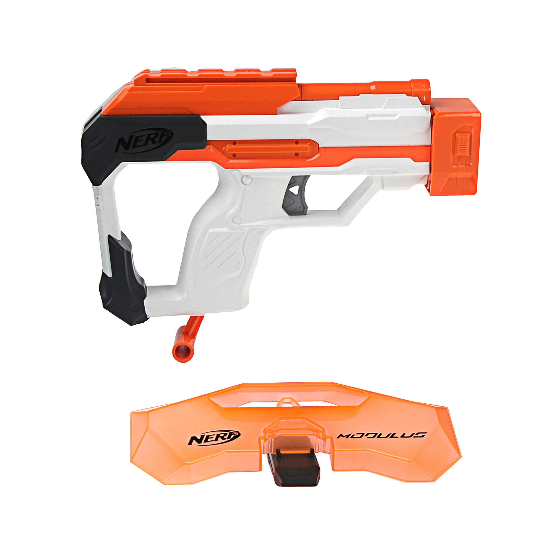 Wonderful Worker Mod Modified Accessories Modification Shoulder Stock Kits  Compatible For N-Strike Elite Retaliator For NERF Gun Toy