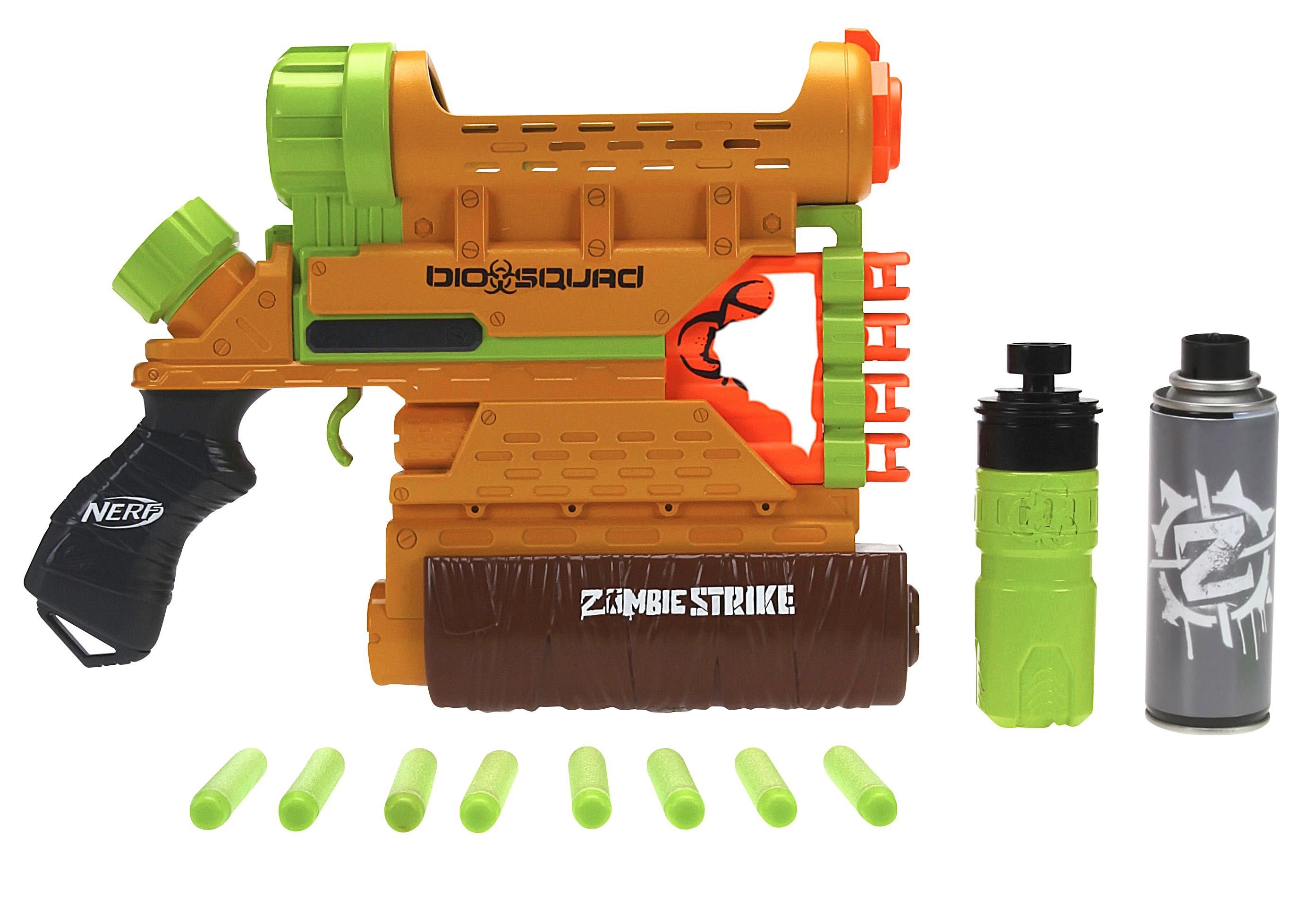 Spielzeug für draußen Nerf Zombie Strike Biosquad Zombie Repellent Can