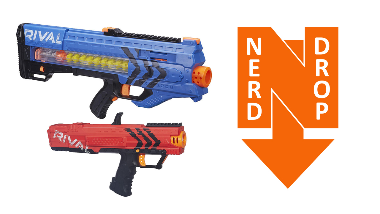 nerf rival zeus and apollo initial thoughts and review. Black Bedroom Furniture Sets. Home Design Ideas